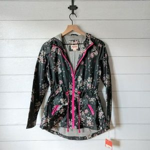 Mossimo Floral Weatherproof Lined Jacket